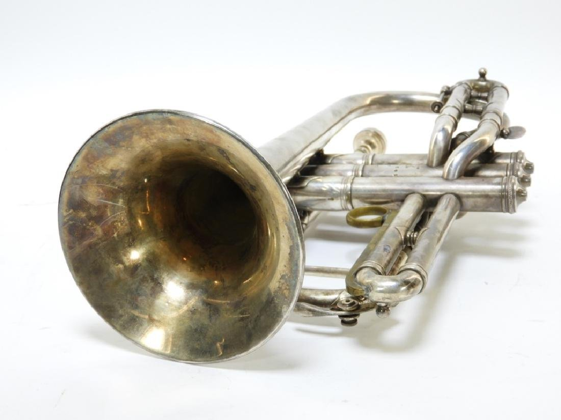 1907 C. G. Conn LTD Elkhart Cornet Director Horn - 8