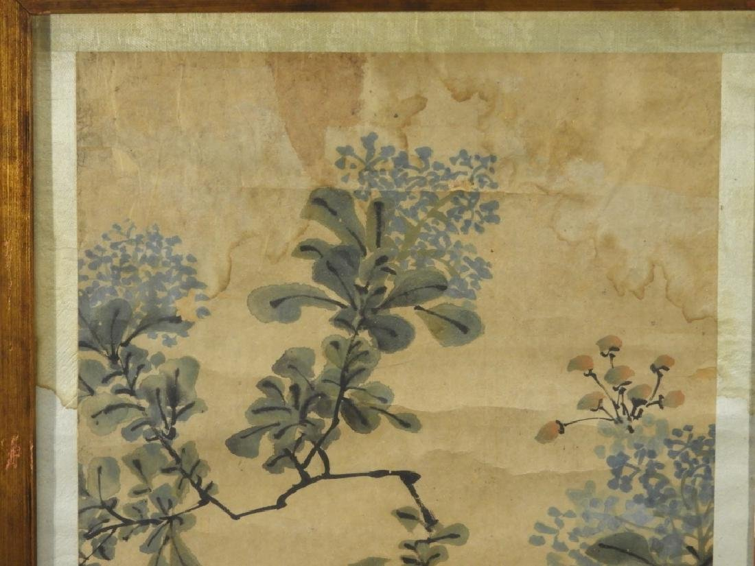 PR. 19C. Chinese Watercolor Avian Scroll Paintings - 7