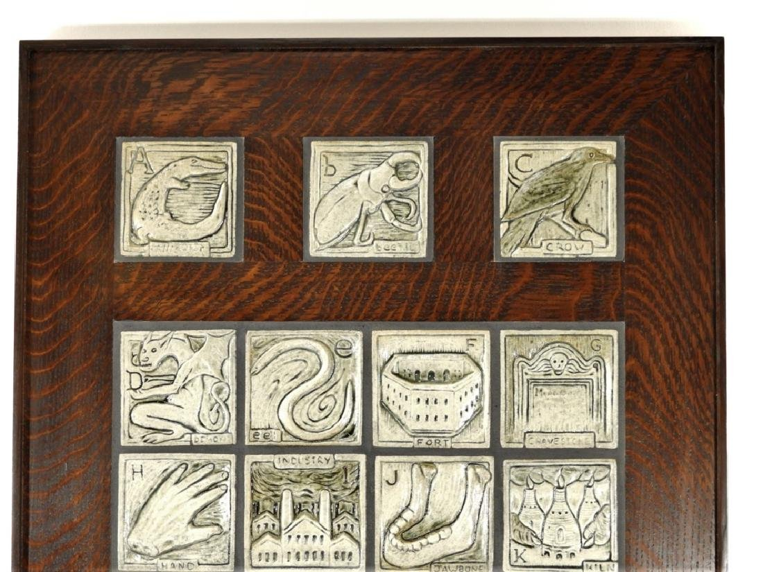 Jonathan White Odd Inq Pottery Alphabet Tile - 2