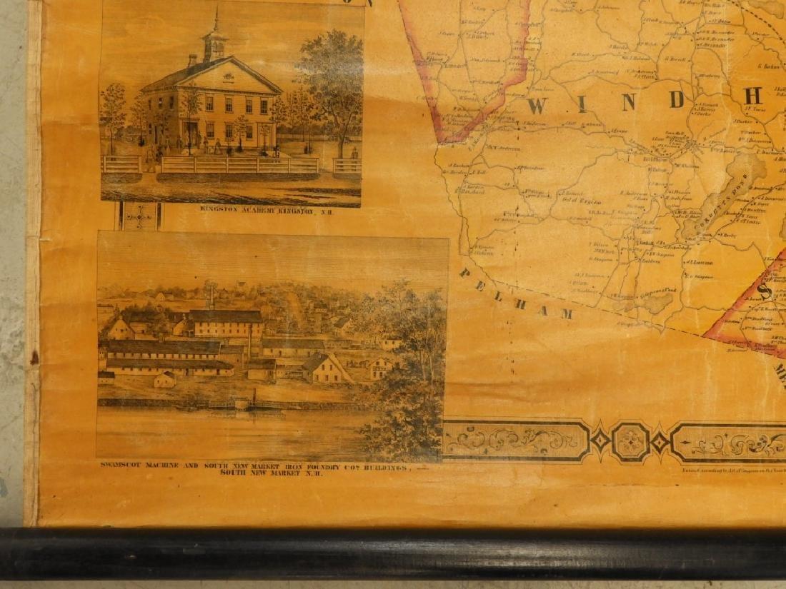 19C J. Chase June Rockingham Co. New Hampshire Map - 5
