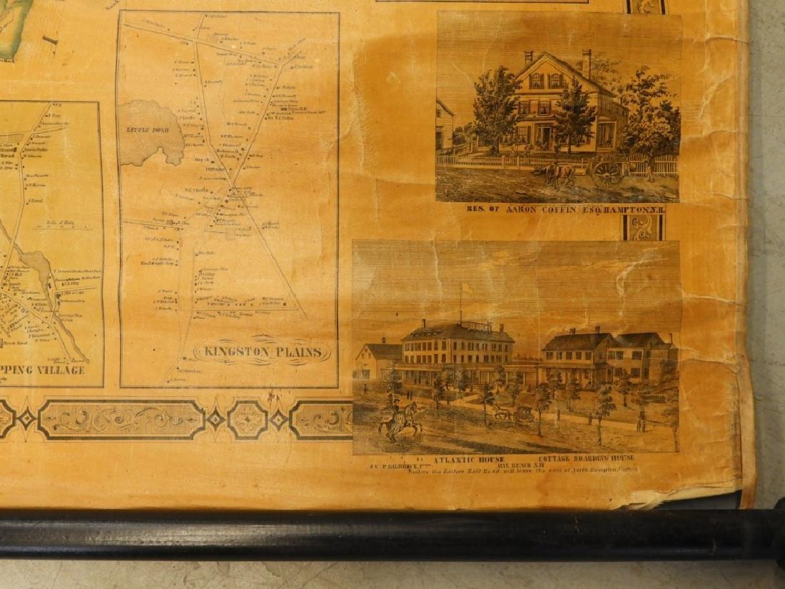 19C J. Chase June Rockingham Co. New Hampshire Map - 6