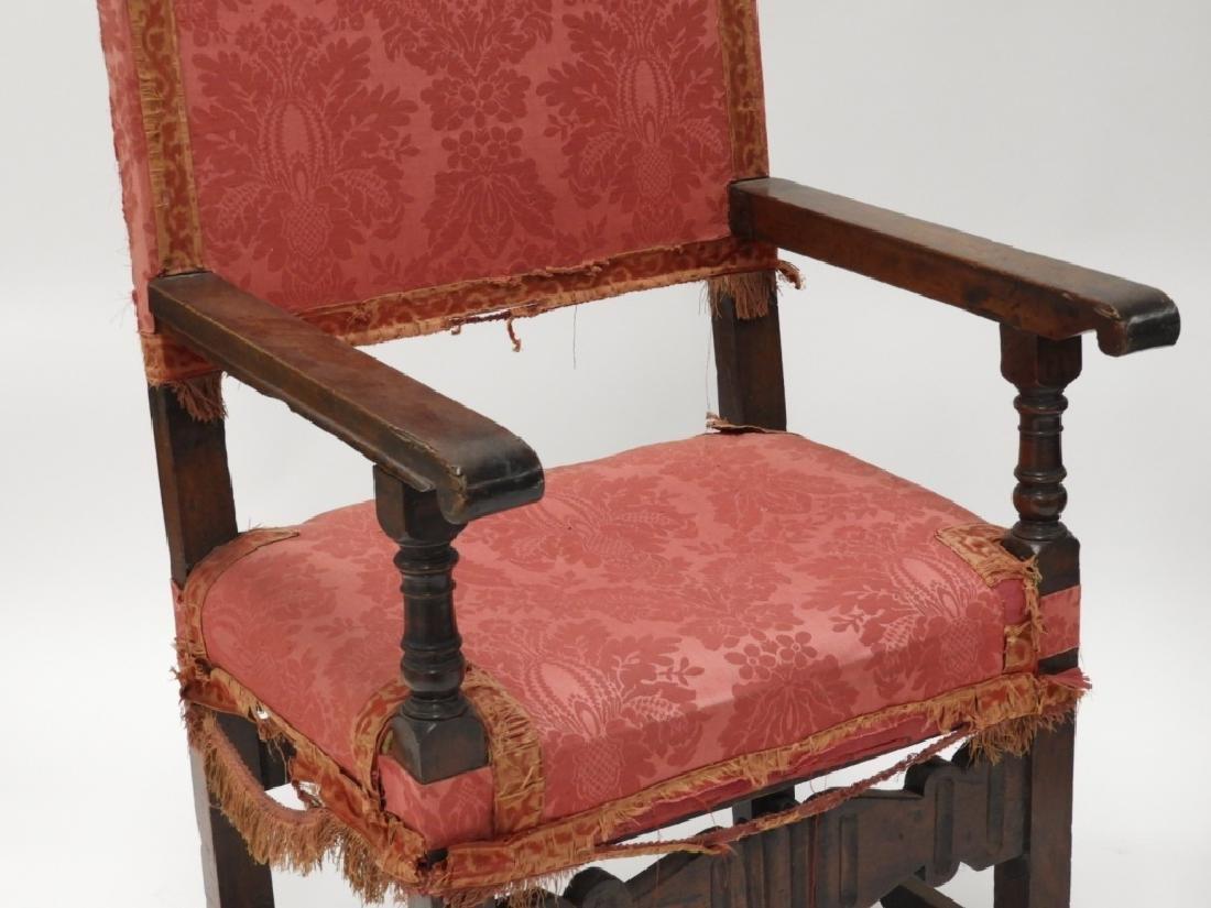 Near PR. Italian Renaissance Walnut Armchairs - 2