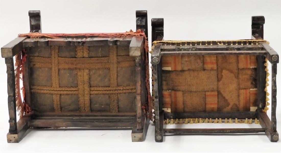 Near PR. Italian Renaissance Walnut Armchairs - 8