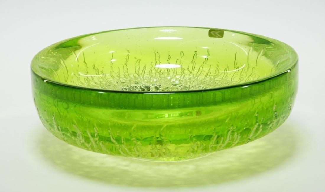 Goran Warff for Kosta Boda Art Glass Bowl