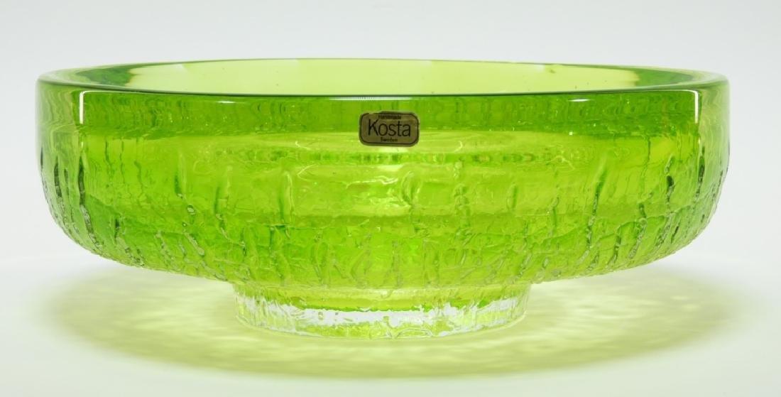 Goran Warff for Kosta Boda Art Glass Bowl - 2