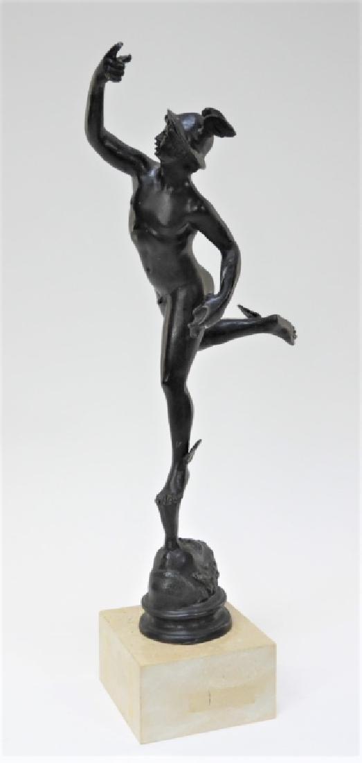 European Grand Tour Bronze Sculpture of Mercury
