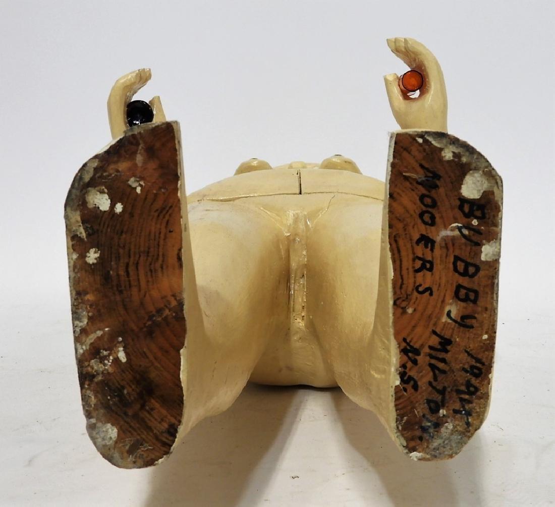 Bubby Moores Folk Art Nude Female Bar Sculpture - 7