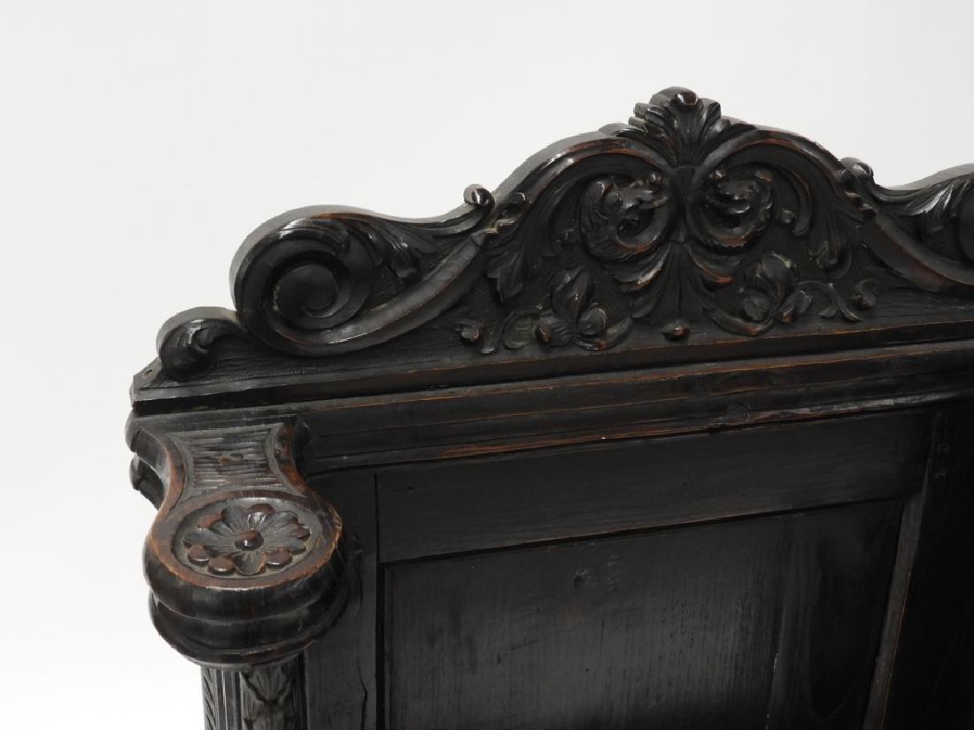 18C. Continental Renaissance Revival Hall Chair - 4