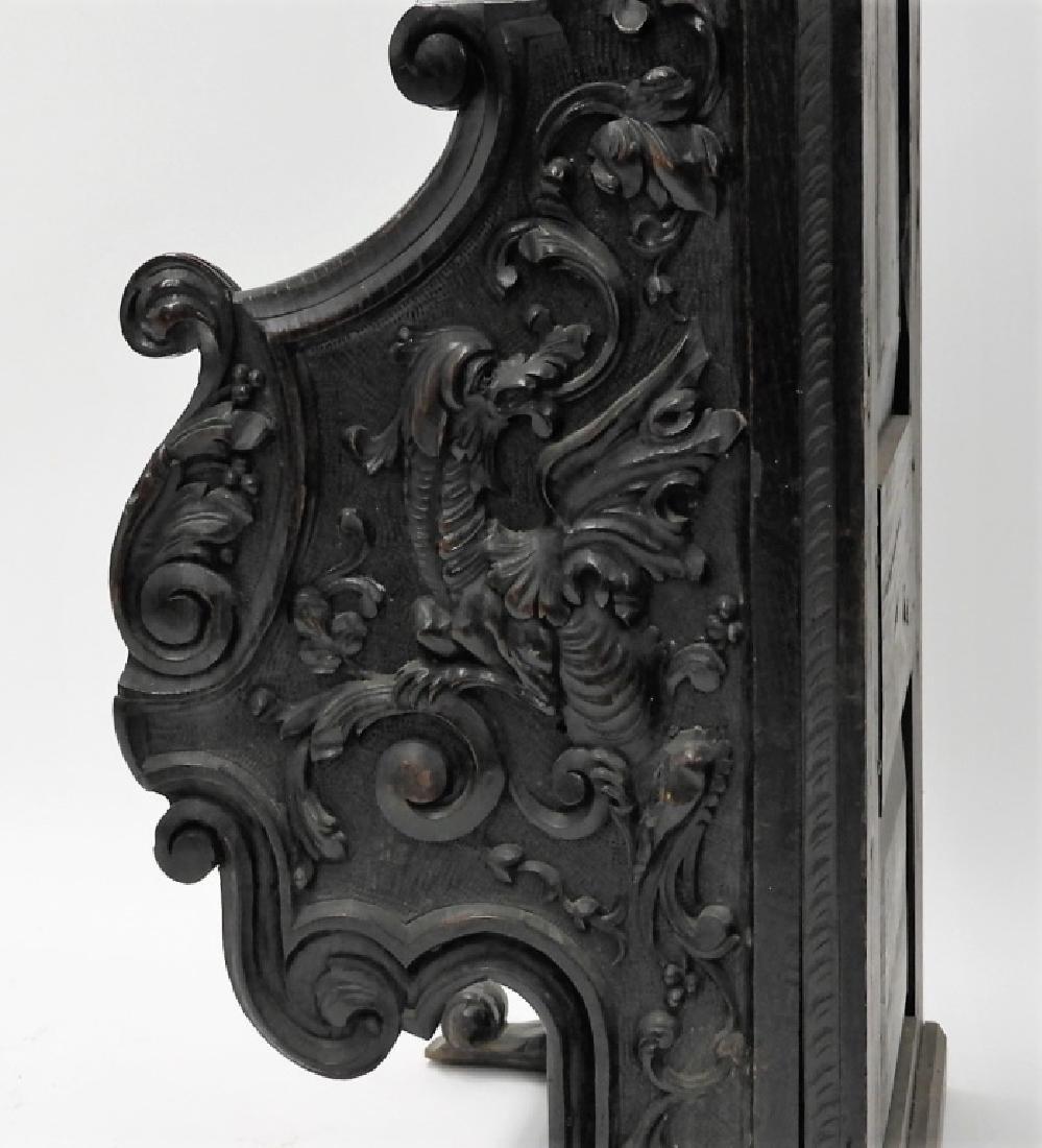 18C. Continental Renaissance Revival Hall Chair - 7