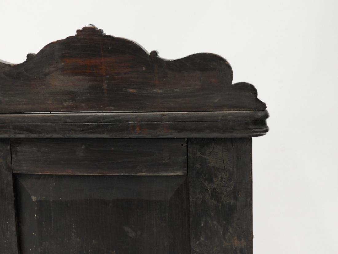 18C. Continental Renaissance Revival Hall Chair - 9