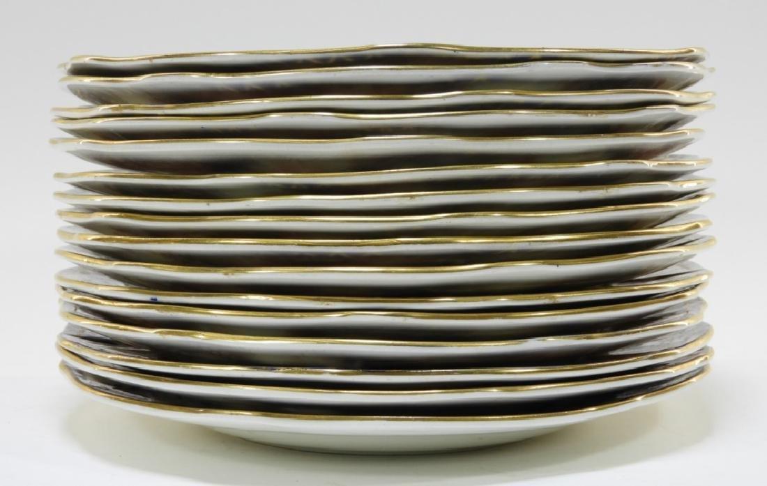 16 Royal Crown Derby Imari Pattern 3615 Plates - 5