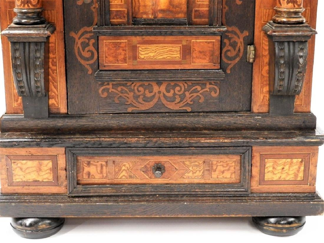 English Aesthetic Diminutive Inlaid Cabinet - 4