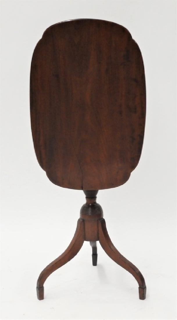 C.1810 NE Federal Cherry Tilt Top Candle Stand
