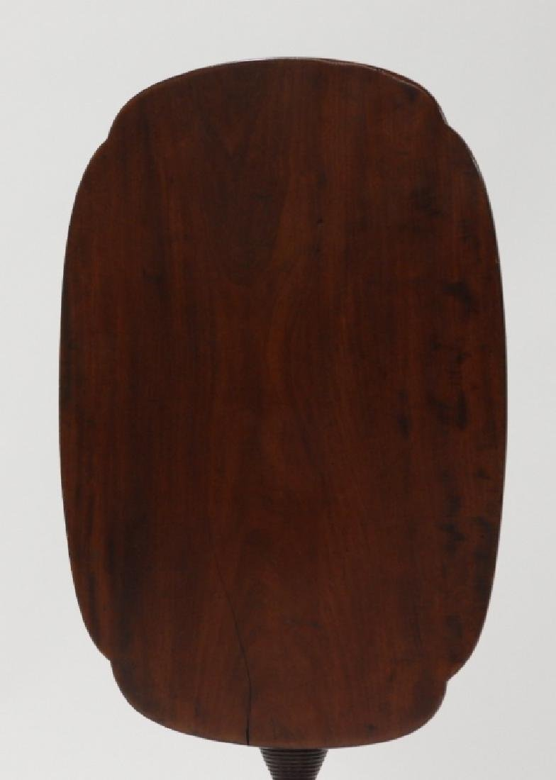 C.1810 NE Federal Cherry Tilt Top Candle Stand - 2
