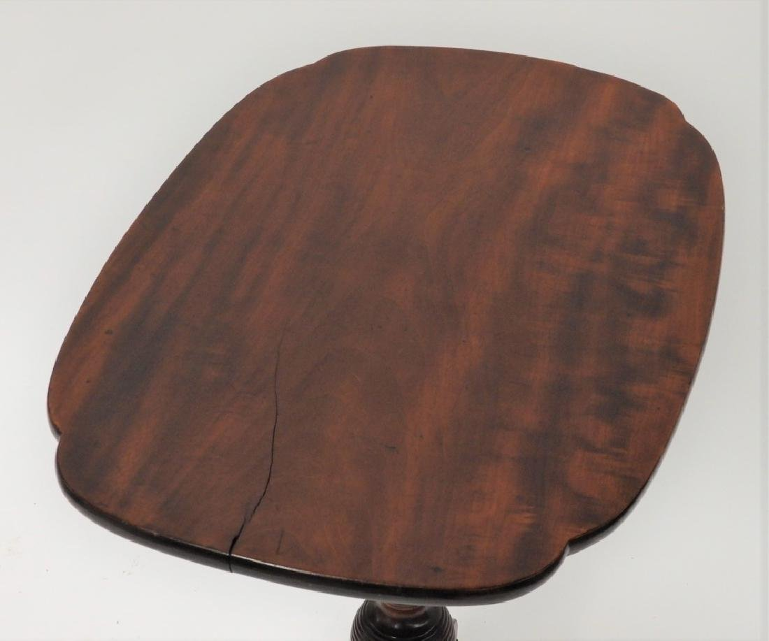 C.1810 NE Federal Cherry Tilt Top Candle Stand - 3