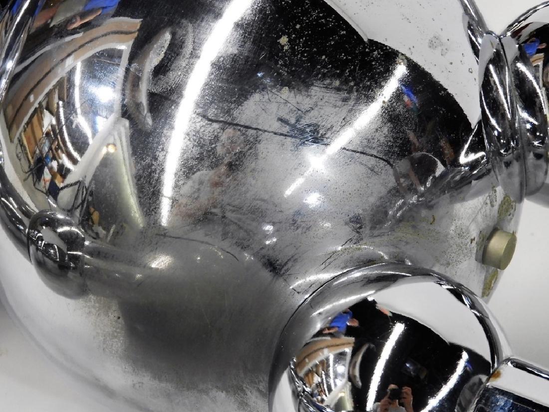 Italian Torino Lamp Co. Chrome Plated Robot Lamp - 4