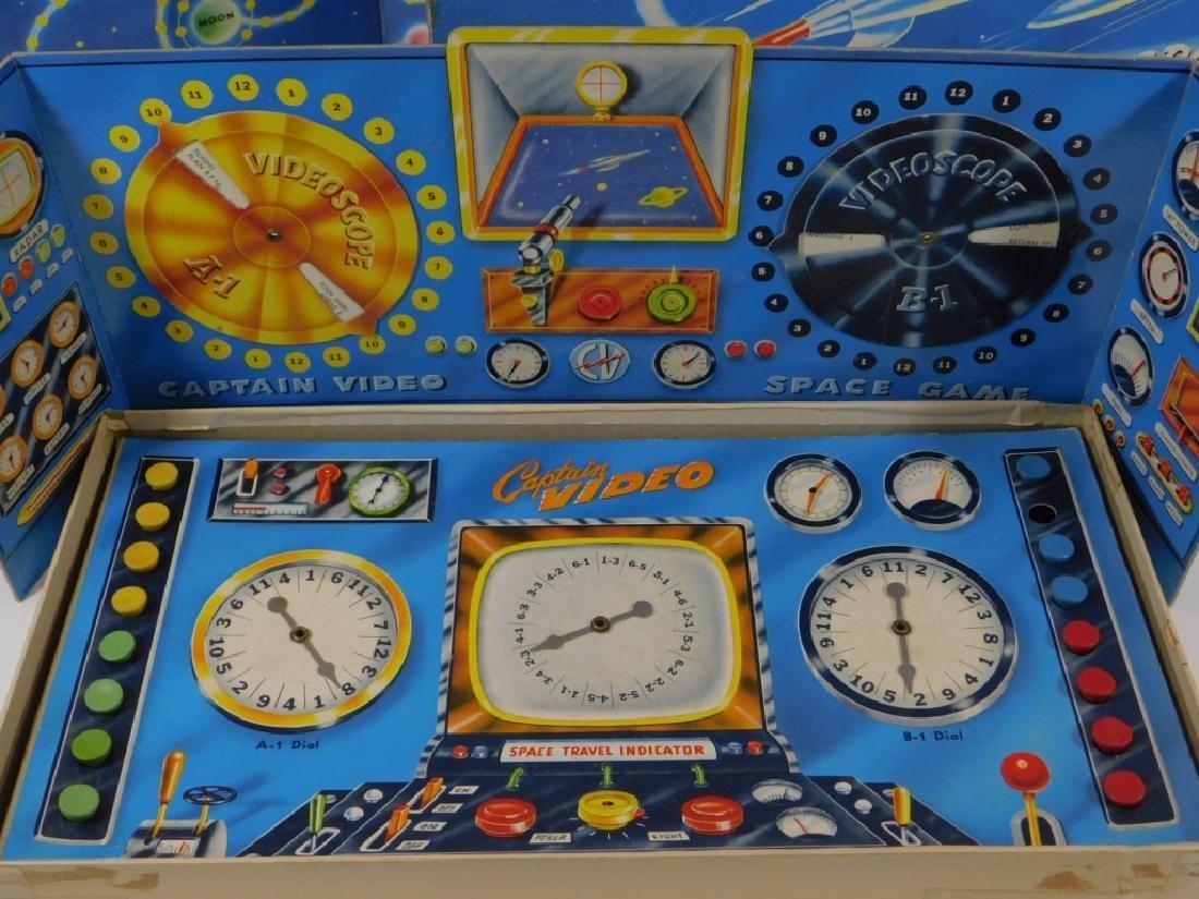 C.1950 Milton Bradley Captain Video Board Game - 3