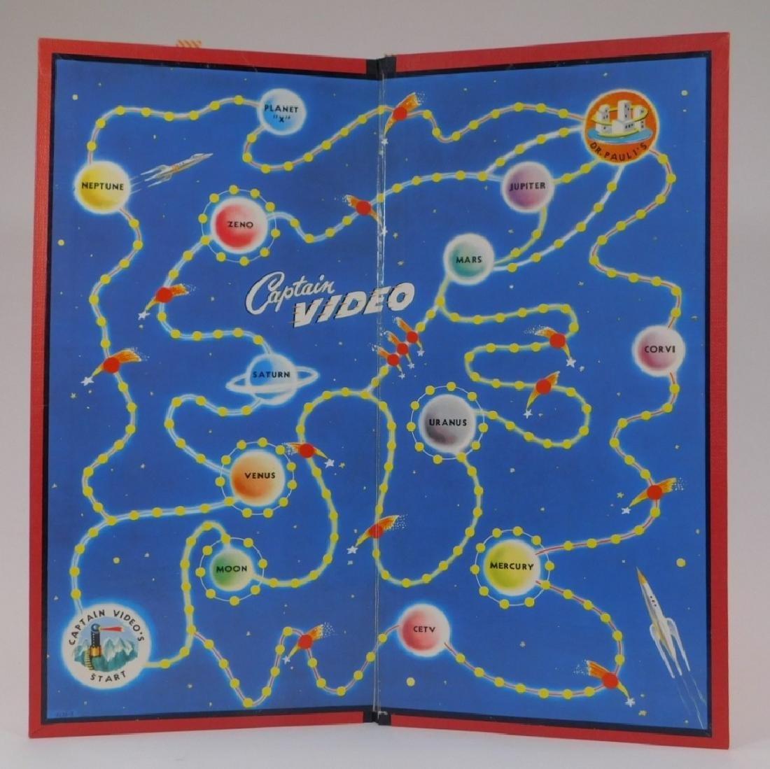 C.1950 Milton Bradley Captain Video Board Game - 4