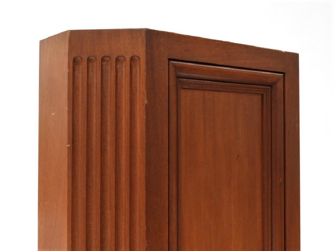 FINE Mahogany Paneled & Fluted Pedestal Fern Stand - 4
