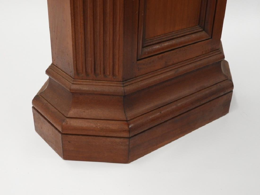 FINE Mahogany Paneled & Fluted Pedestal Fern Stand - 5