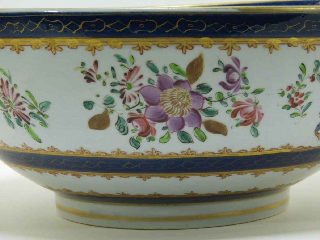 19C. French Samson Porcelain Chinese Armorial Bowl - 3