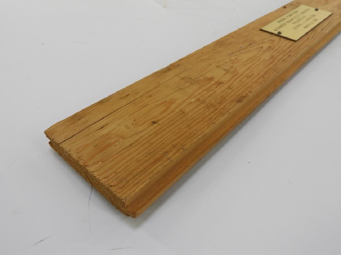 Alexander Graham Bell Original Laboratory Plank - 3