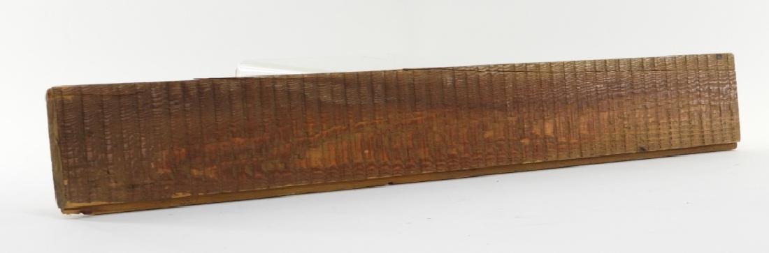 Alexander Graham Bell Original Laboratory Plank - 4