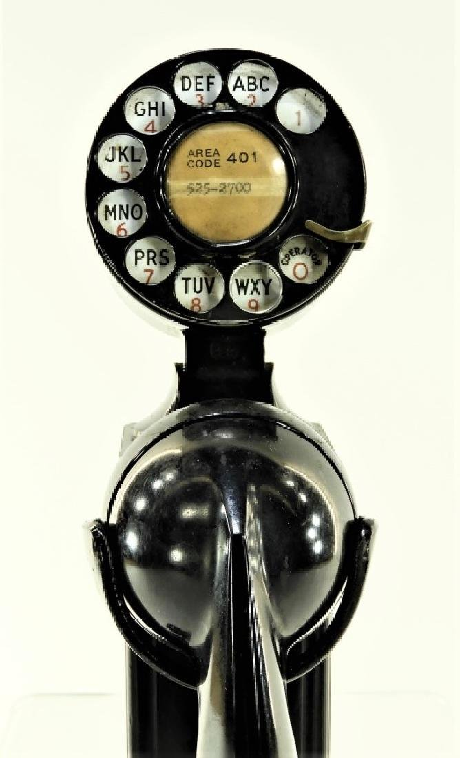 Western Electric Bell Space Saver Rotary Telephone - 2