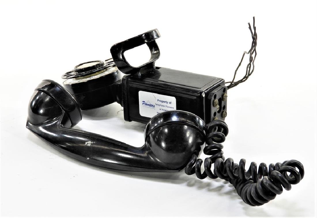 Western Electric Bell Space Saver Rotary Telephone - 3