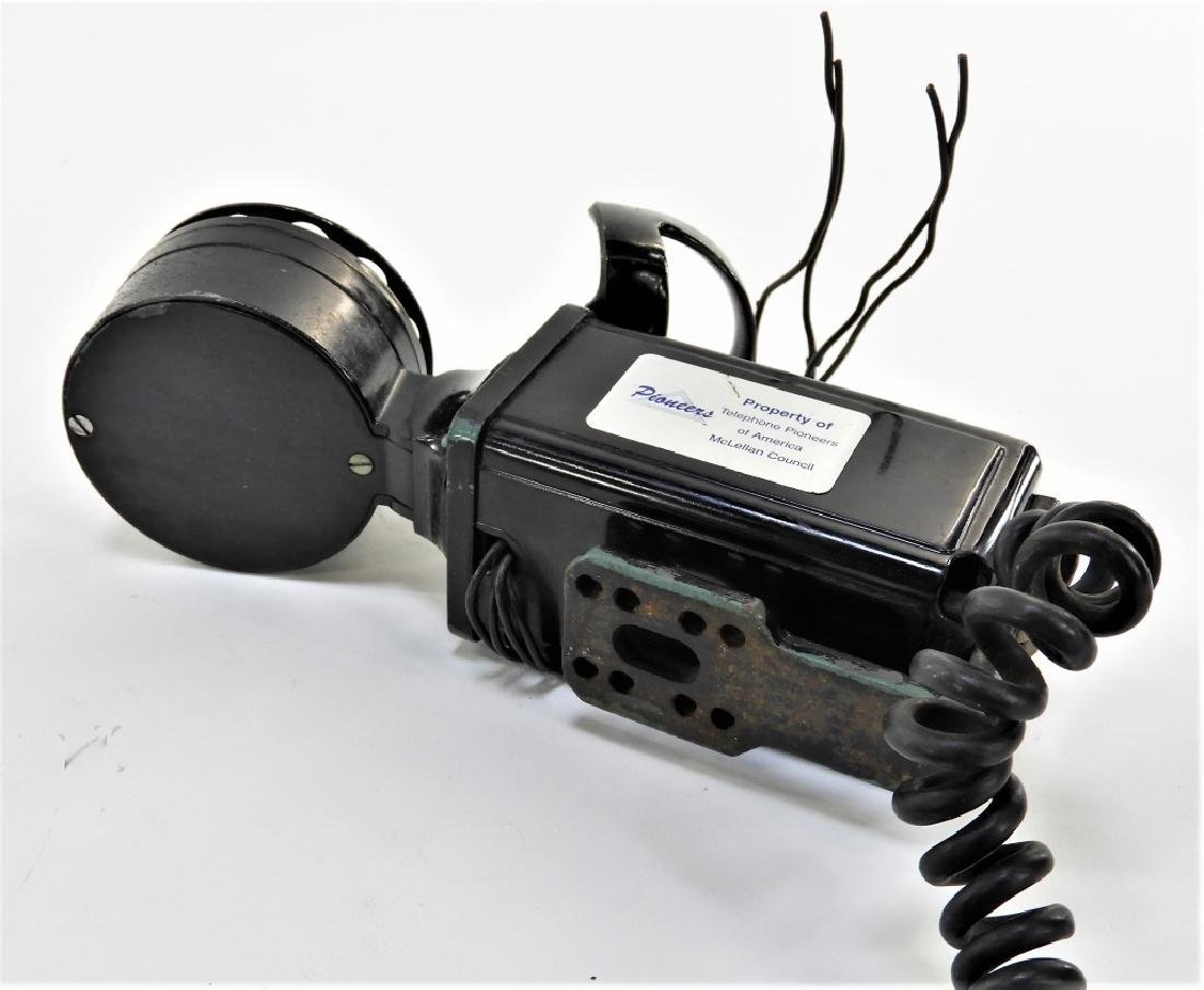 Western Electric Bell Space Saver Rotary Telephone - 5