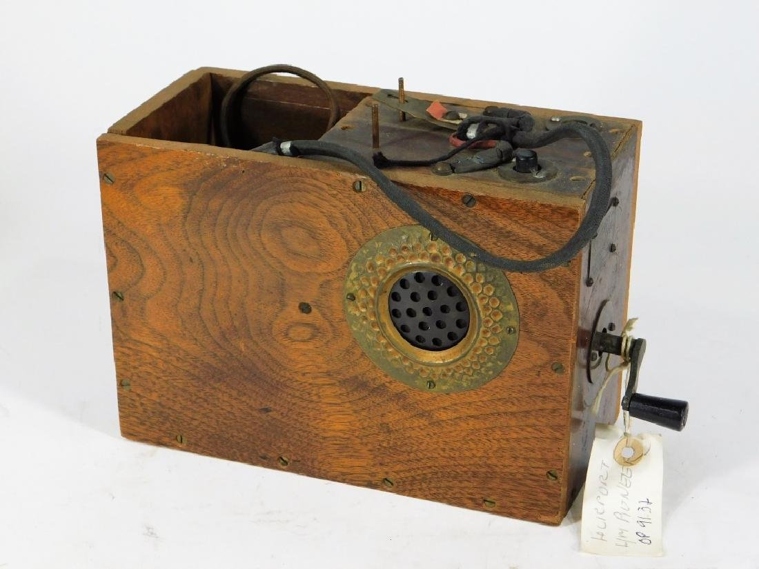 C.1915 Stewart Bros. Lineman's Telephone Test Box