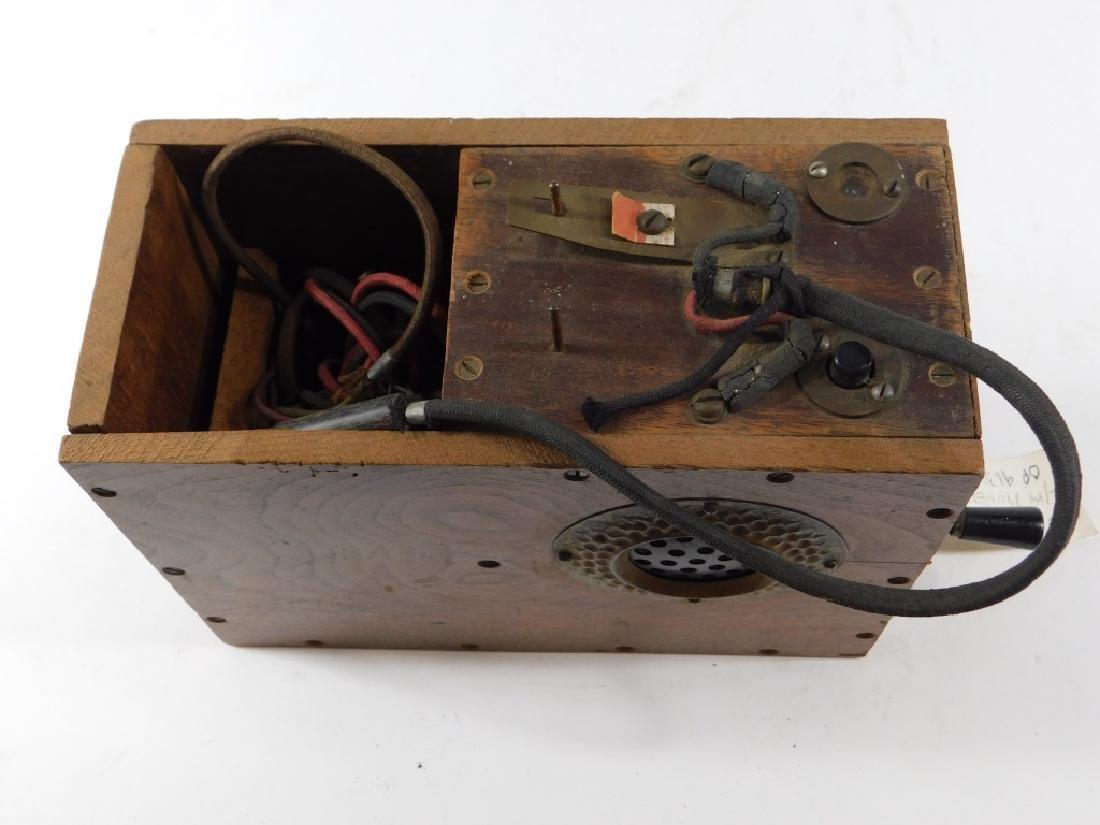 C.1915 Stewart Bros. Lineman's Telephone Test Box - 2
