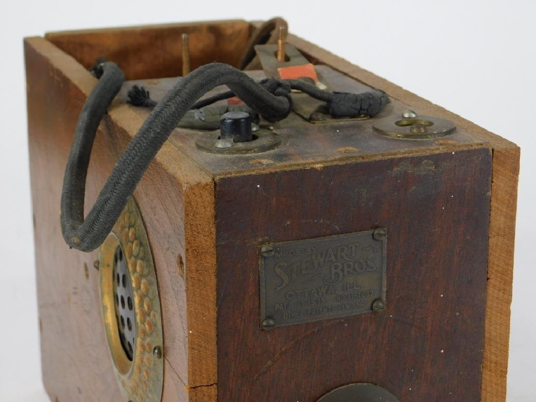 C.1915 Stewart Bros. Lineman's Telephone Test Box - 3