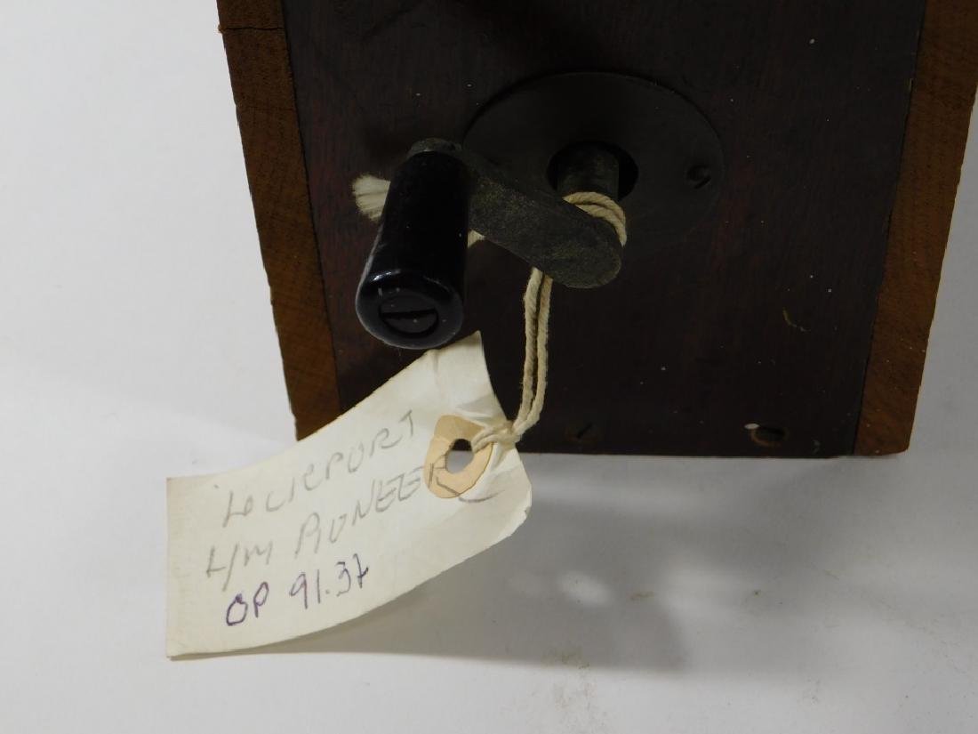 C.1915 Stewart Bros. Lineman's Telephone Test Box - 4