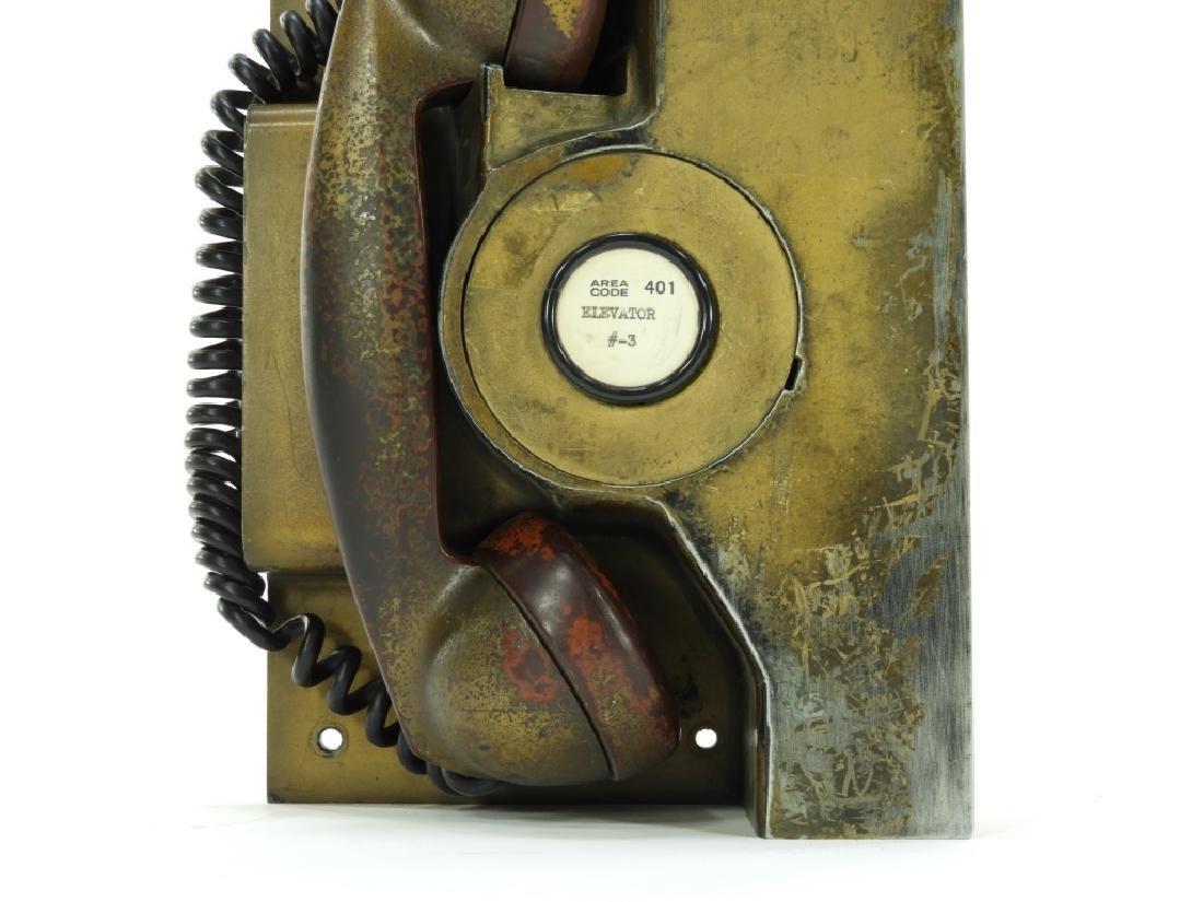 Western Electric Elevator Phone ID'd Providence RI - 3