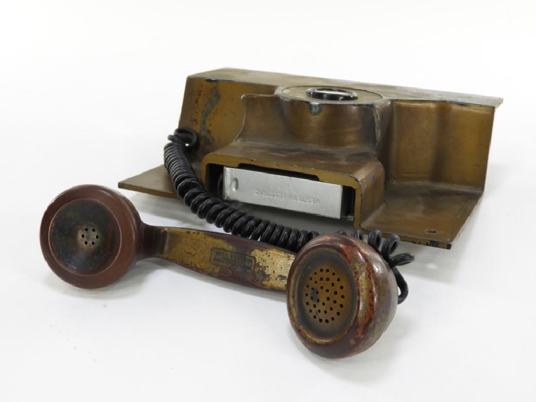 Western Electric Elevator Phone ID'd Providence RI - 4