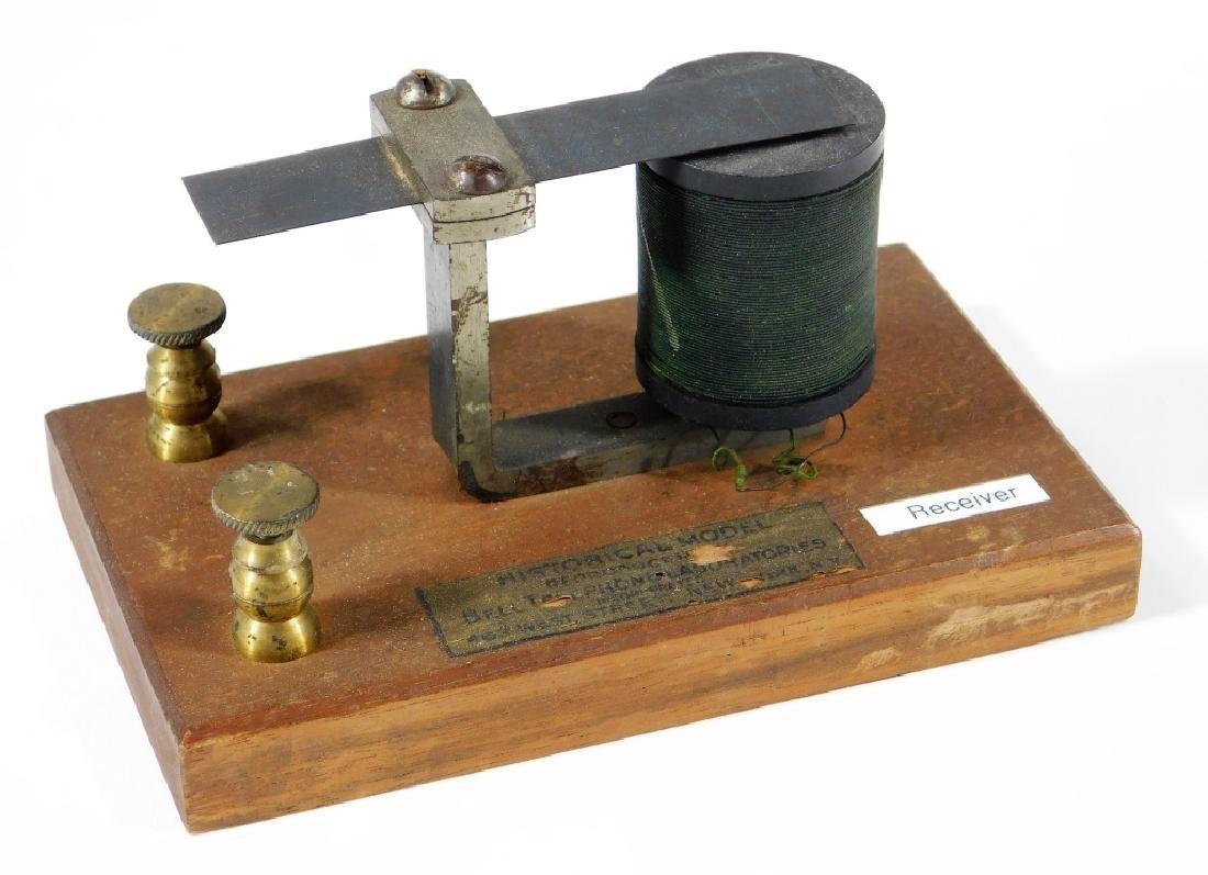 Bell Labs Harmonic Telegraph Receiver Transmitter