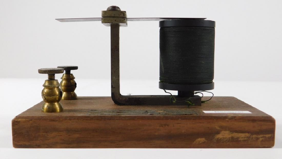 Bell Labs Harmonic Telegraph Receiver Transmitter - 3