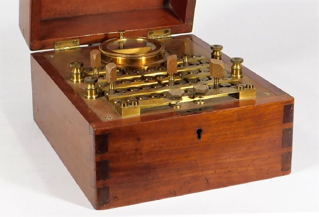 1907 Wheatstone Bridge Telephone Lineman Test Set