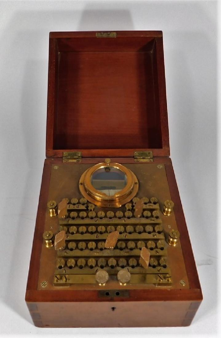 1907 Wheatstone Bridge Telephone Lineman Test Set - 2