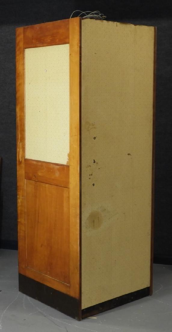 Vintage Veneer Pay Telephone Phone Booth - 6