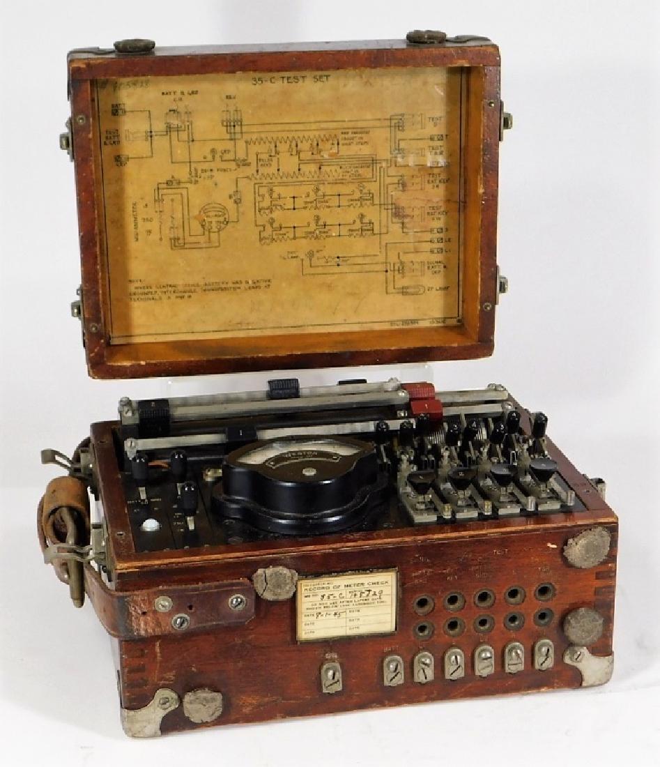 Western Electric 35-C Model 267 Telephone Test Set