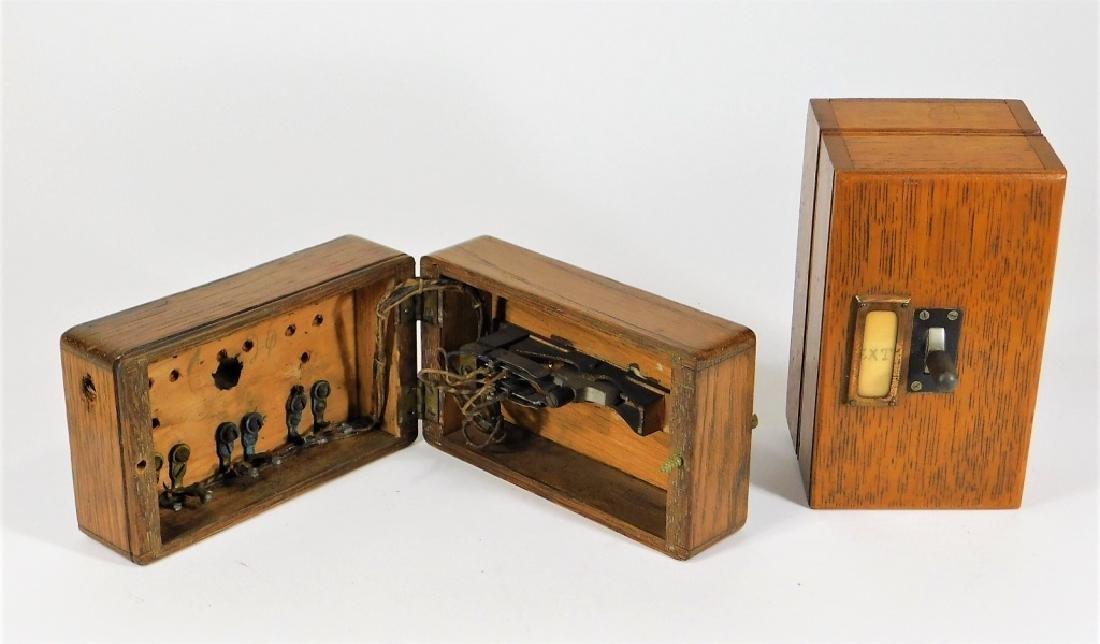 PR Oak Telegraph Keys for Circuit to Havana Cuba - 2