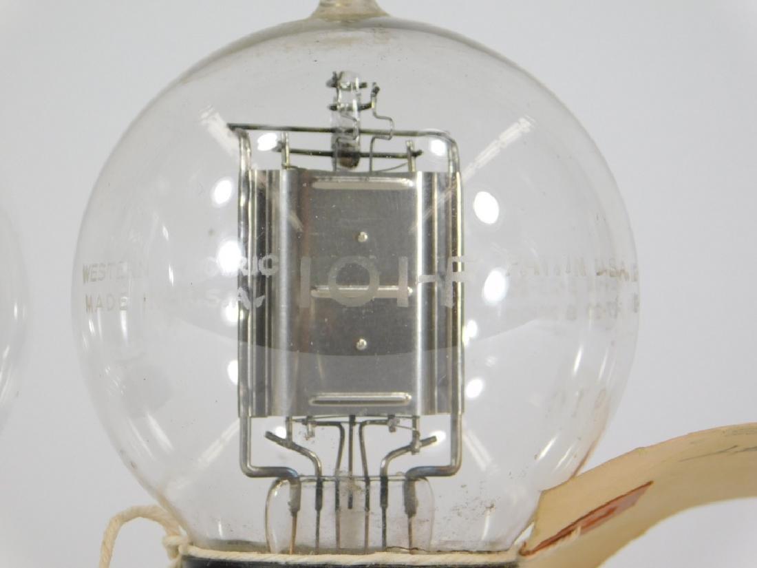 2 ID'd Western Electric 101-F Tennis Ball Tubes - 6