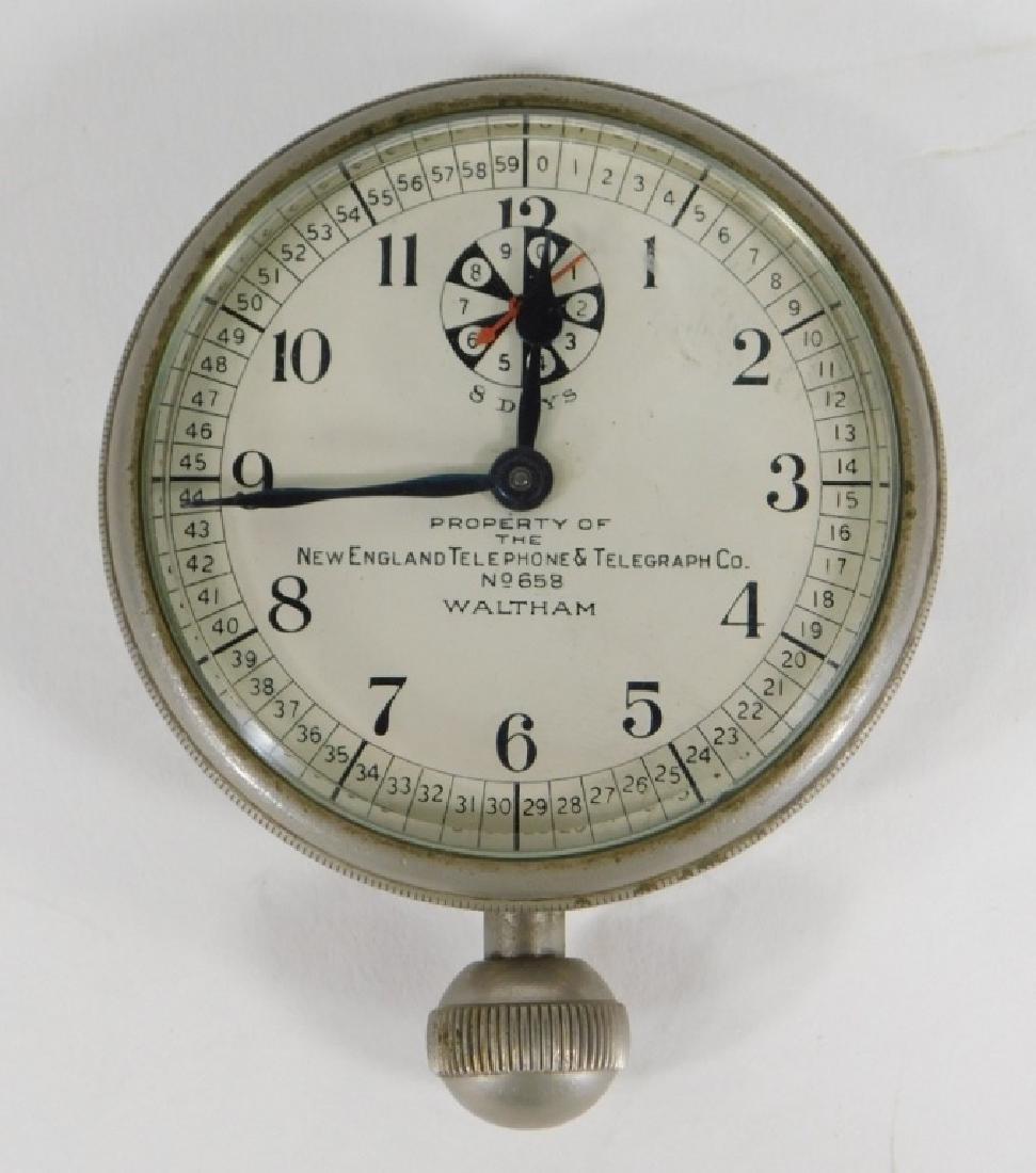 Waltham 8 Day KS Switchboard Long Distance Clock