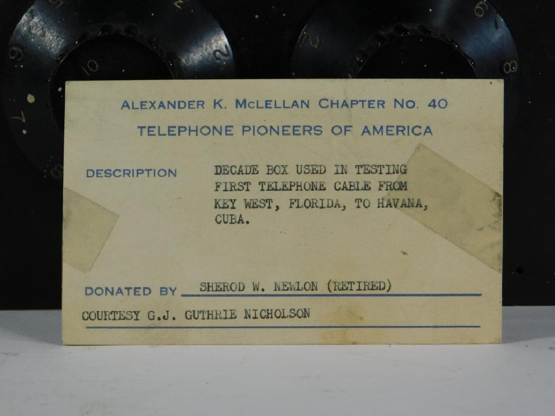 Leads & Northrup Key West to Cuba AT&T Test Set - 6