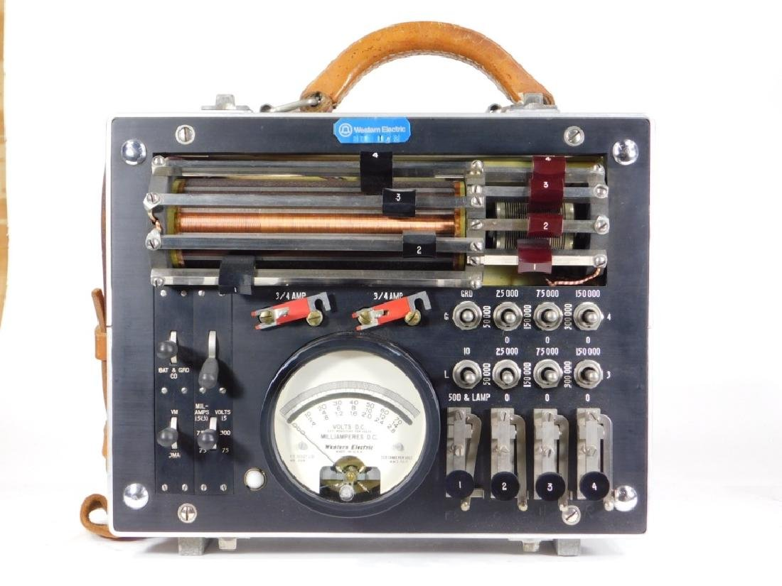 Western Electric 35F Current Flow Test Set - 3