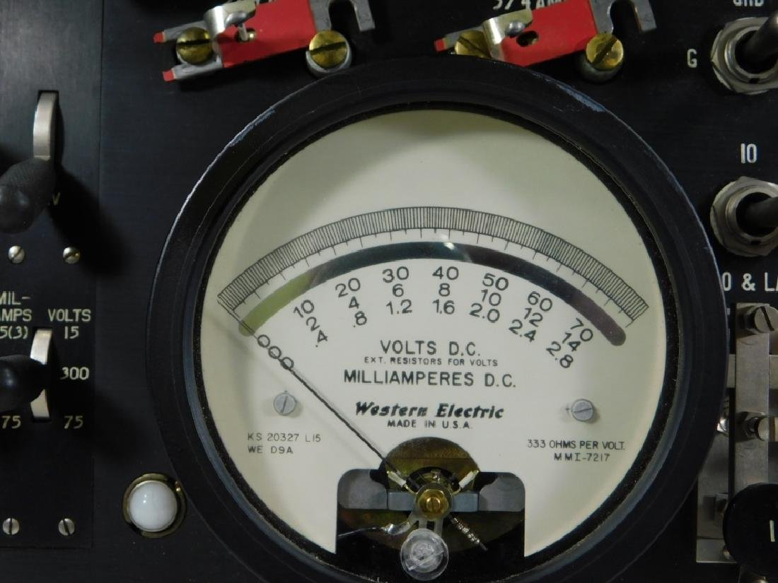 Western Electric 35F Current Flow Test Set - 6