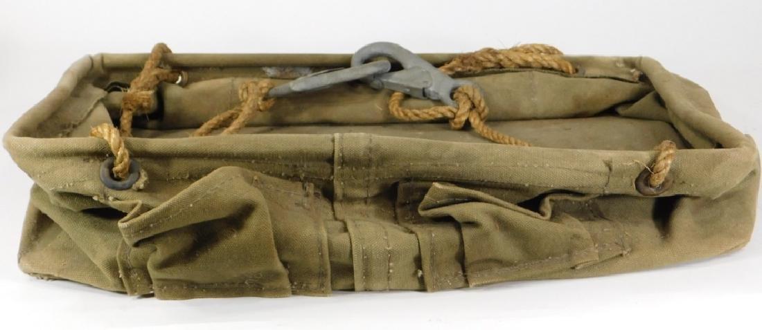 Vintage Bell System B Lineman's Canvas Tool Bag - 3