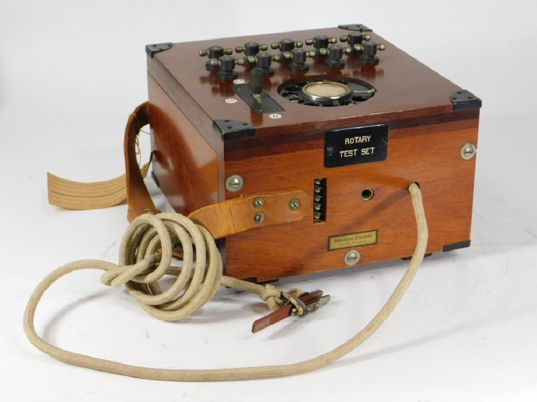 1930 Westerly RI Western Electric Rotary Test Set